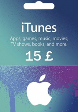 Joc Apple iTunes Gift Card 15 GBP United Kingdom pentru iTunes