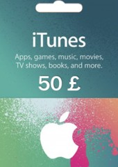 Apple iTunes Gift Card 50 GBP United Kingdom