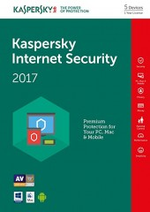Kaspersky Internet Security - 5 Devices Electronic License