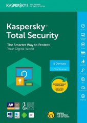 Kaspersky Total Security 5 Devices Electronic License