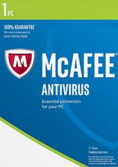 McAfee AntiVirus 2017.1 Device Electronic License