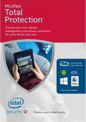 McAfee Total Protection 2017, Unlimited Electronic License Devices
