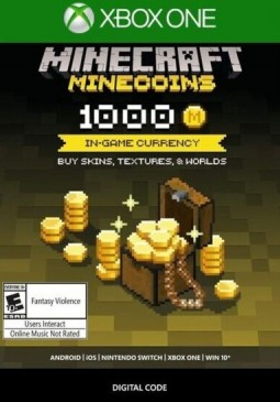 Joc Minecraft - Minecoins Pack 1000 Coins Xbox ONE pentru XBOX