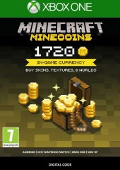 Minecraft - Minecoins Pack 1720 Coins Xbox ONE