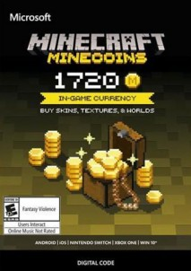 Minecraft: Minecoins Pack 1720 Coins PC