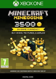 Minecraft - Minecoins Pack 3500 Coins Xbox ONE