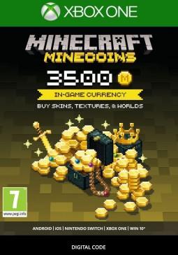 Joc Minecraft - Minecoins Pack 3500 Coins Xbox ONE pentru XBOX