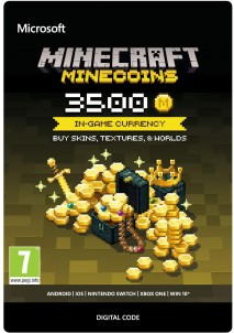 Minecraft: Minecoins Pack 3500 Coins PC