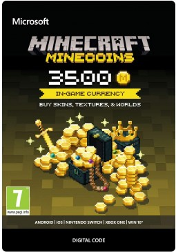 Joc Minecraft: Minecoins Pack 3500 Coins PC pentru Official Website