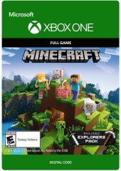 Minecraft Explorers Pack Download Code Xbox One