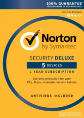 Norton security 3.0 Deluxe - 5 Electronic License Devices