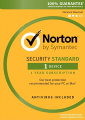 Norton security 3.0 Standard - 1 Electronic License Device