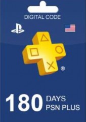 Playstation Plus CARD PSN UNITED KINGDOM 180 Days