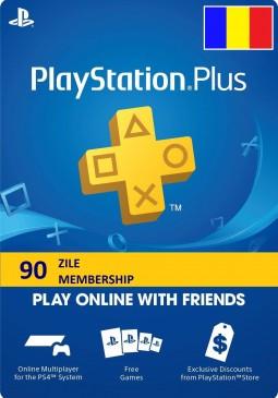Joc PLAYSTATION PLUS MEMBERSHIP (90 ZILE) RO PS4 pentru PSN