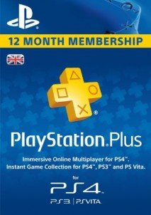 Playstation Plus CARD PSN UNITED KINGDOM 365 Days