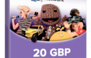 PlayStation Network 20 GBP PSN CARD UK