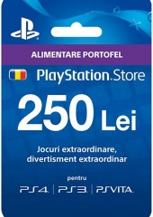 Playstation Network Card 250 LEI RO