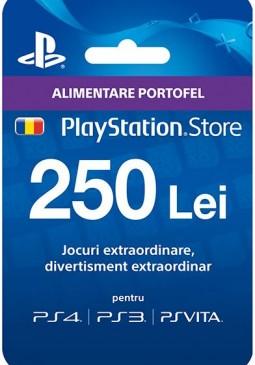 Joc Playstation Network Card 250 LEI RO pentru PSN