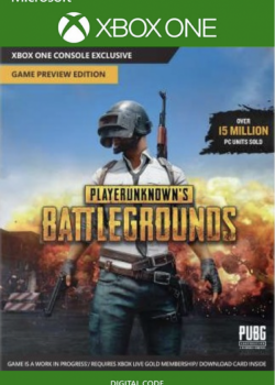 PlayerUnknown's BattleGrounds - Full Game Download Code Xbox One