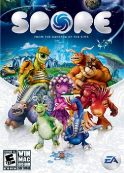SPORE PC game code with instant delivery.