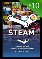 Steam Wallet Card €10 Global Activation Code