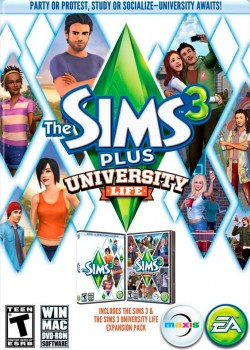 The Sims 3: University Life game code with instant delivery.