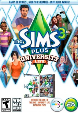 Joc The Sims 3: University Life pentru Origin