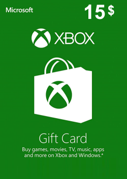 XBOX Live Gift Card Europe 15 USD America