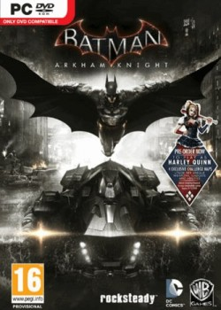 Batman: Arkham Knight + Harley Quinn Story Pack Steam CD Key game code with instant delivery.
