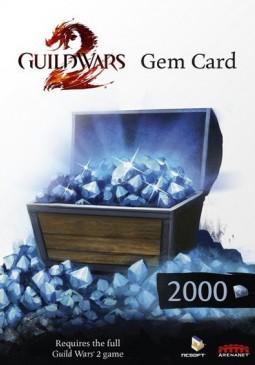 Joc Guild Wars 2 EU 2000 Gems Code pentru Official Website