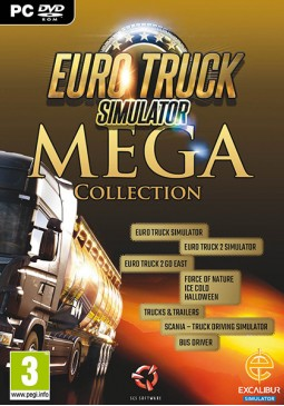 Joc Euro Truck Simulator Mega Collection Steam CD Key pentru Steam