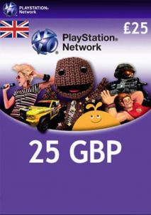 PlayStation Network Gift Card 25 GBP PSN UNITED KINGDOM