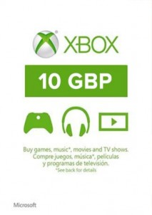 XBOX Live 10 GBP Card UK