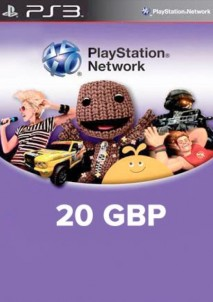 PlayStation Network 20 GBP PSN CARD UK
