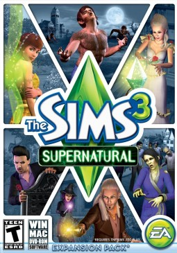 Joc The Sims 3 Supernatural DLC Pack EA Origin CD Key pentru Origin