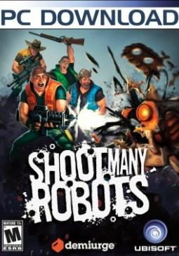 Joc Shoot many robots pentru Steam