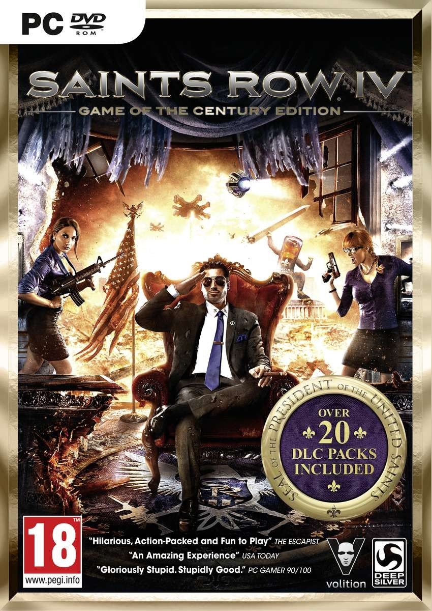 Saint Row 4 Game of the century