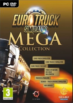 Euro Truck Simulator Mega Collection Steam CD Key code with instant delivery