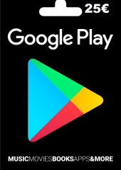 Google Play Gift Card Europe 25 EURO