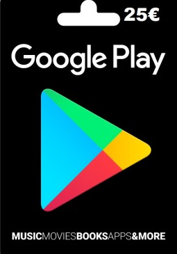 Joc Google Play Gift Card Europe 25 EURO pentru GOOGLE PLAY