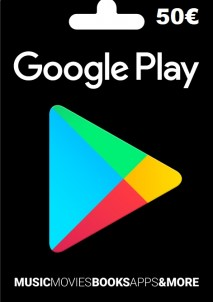 Google Play Gift Card Europe 50 EURO