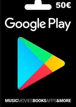 Google Play Gift Card Europe 50 EURO