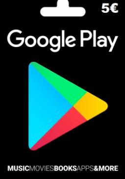 Joc Google Play Gift Card Europe 5 EURO pentru GOOGLE PLAY