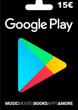 Google Play Gift Card Europe 15 EURO