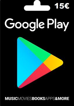 Joc Google Play Gift Card Europe 15 EURO pentru GOOGLE PLAY