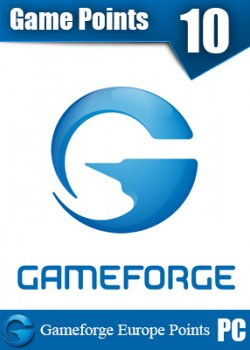 Gameforge EU points 10 euro game code with instant delivery.