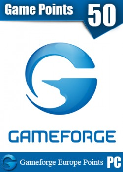 Gameforge EU points 50 euro game code with instant delivery.