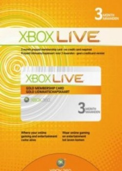Xbox Live Gold 3 month game code with instant delivery.