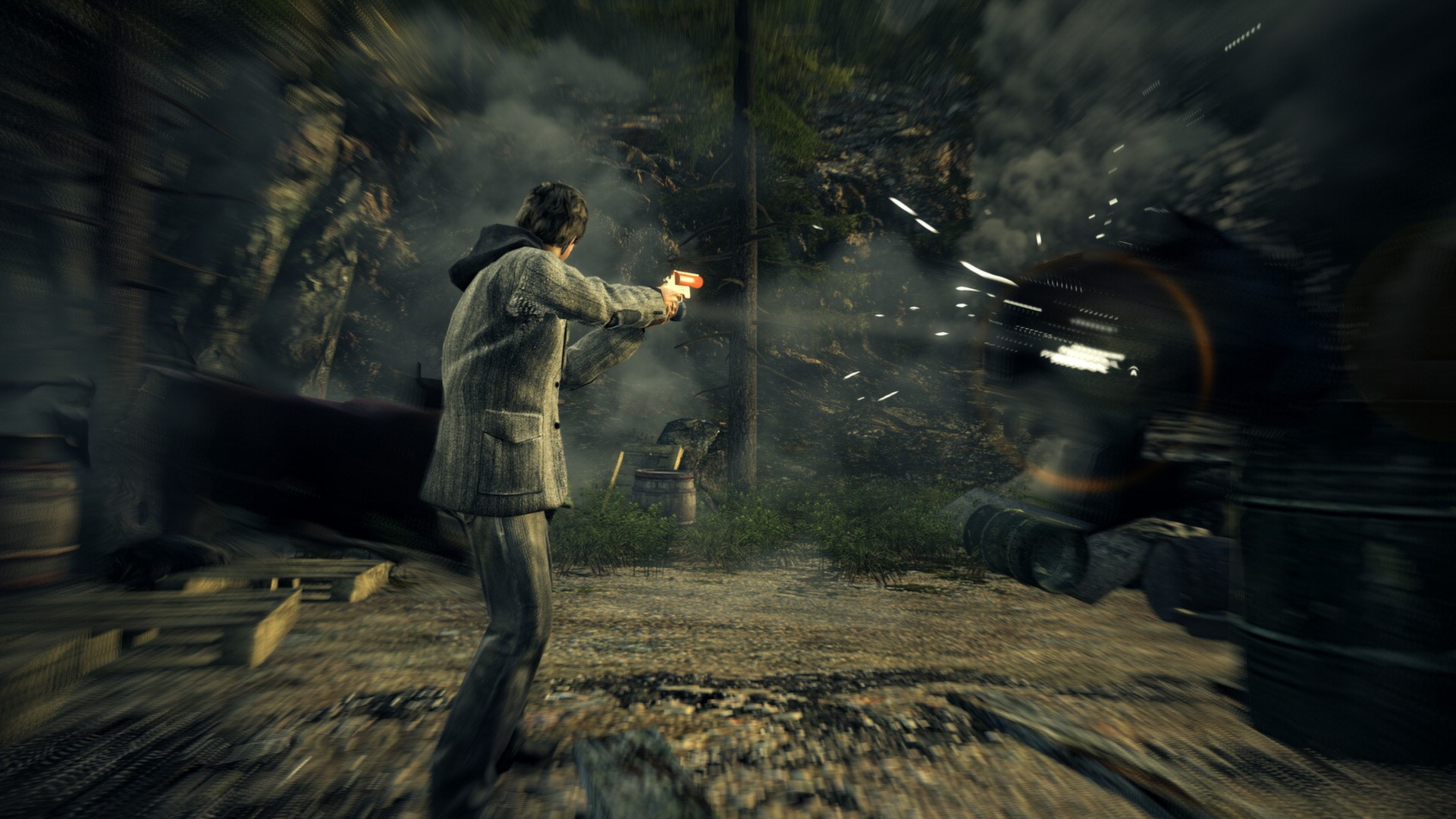 Alan Wake: A Journey from Light to Darkness