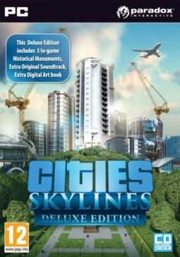 Joc Cities: Skylines (Deluxe Edition) Steam CD Key pentru Steam